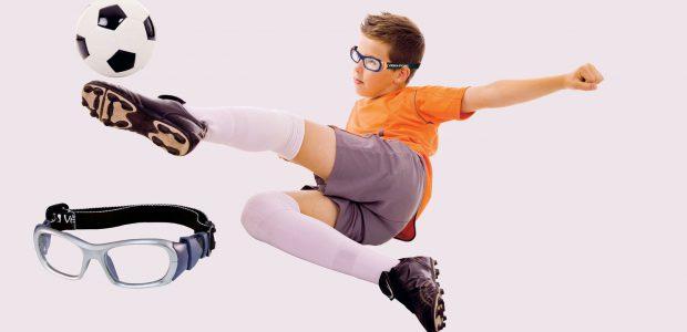 Ulleres esportives de seguretat per nens